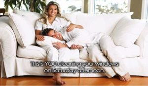 Pamper yourself to a professional window cleaning service
