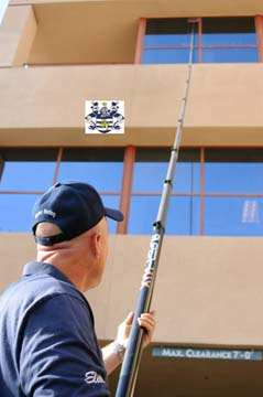 Carbon Fiber Waterfed Pole Rentals San Diego