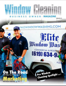 WCBO Magazine for the professional window cleaning business owner
