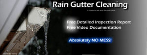 Professional Rain Gutter Cleaning Company of San Diego